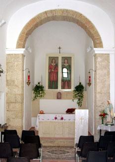 Chiesa dei SS. Cosma e Damiano: interno