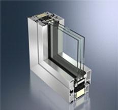 Schüco AWS 112 IC - weltweit erste passivhauszertifizierte Aluminiumfenster