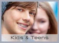 KFO für Kinder und Jugendliche: Kieferregulierung für harmonisch aussehende Zähne.