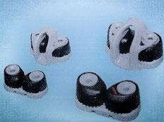 V.l.n.r.: 4006 & 4007 für 4-8mm , 4008 & 4009 für 6-12mm
