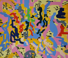 """Delight"". Oil on canvas (2017) 70 cm x 60 cm"