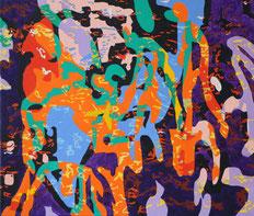 Oil on canvas (2017) 70 cm x 60 cm
