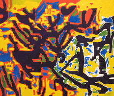 Oil on wood (2017) 88 cm x 70 cm