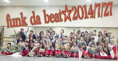 チャリティーダンスパフォーマンスvol.17  2014/7/27 市川市文化会館 楽屋にて☆