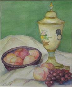 夏の果物 水彩8号