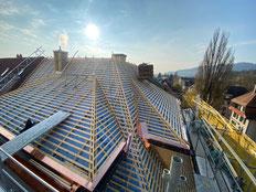 Dachsanierung Brunnmattstrasse Bern Dachsanierung Bern