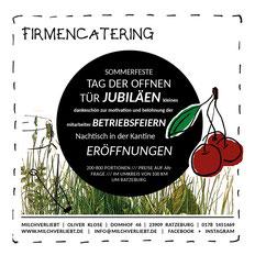 Catering, Firmencatering, Betriebsfest,