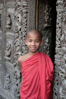 Mönch (Novize) in Mandalay