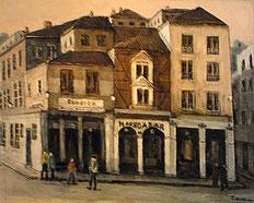 トルフィジョの街 (油彩・F30 )