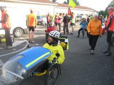 Didier33 au départ de cette vélorizon