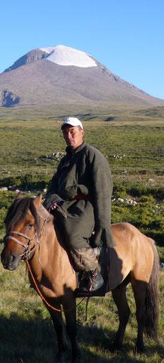 Guide mongol accompagnateur trekking