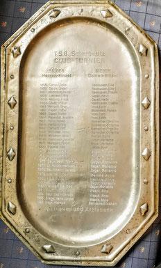 Clubmeister von 1955 - 1986