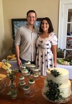 Newlyweds Noah and Abby