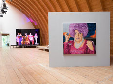 Basis-Coaching Kunst, Ausstellung Tatjana Utz