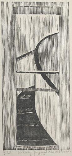 LICHTES TREPPENHAUS   '12  24 x 12 cm