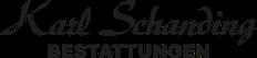 Logo Karl Schanding Bestattungen