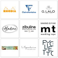paper break papeterie spécialisée marques partenaires
