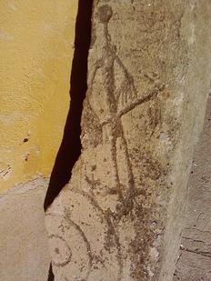 Estela pre-tartésica hallada al norte del término de Peñaflor