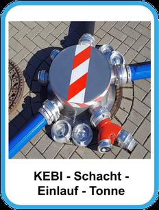 Schacht - Einlauf - Tonne