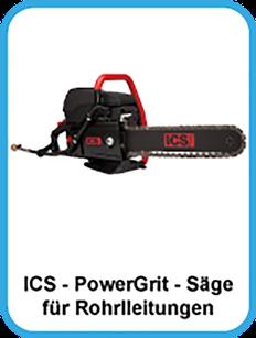 Powergrit, Säge, Diamantkette, Rohrsäge, wasserkühlung, Rohrleitungssäge, Kettensäge, schneiden, trennen, schleifen
