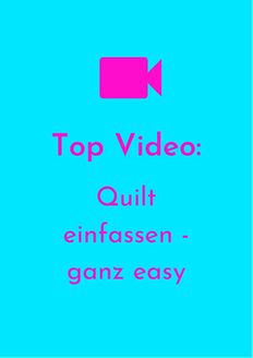 Ahoi Quilts Top Youtube Video