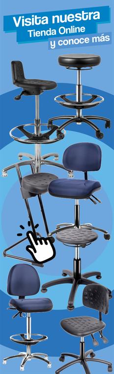 sillas para laboratorio, sillas industriales