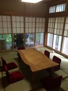 「秩父長瀞Yoshi Studio」の和室の様子