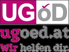 UGÖD-Logo: Wir helfen dir.