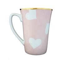 Mug coeur Nara Porcelaine peint à la main