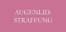 Augenlidstraffung am Oberlid - Bargello AESTHETIK in Giessen