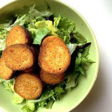 Salat mit den Proweightless Croutons Western-Style