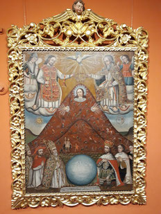 Le tableau le plus emblématique du musée : La Vierge de la montagne