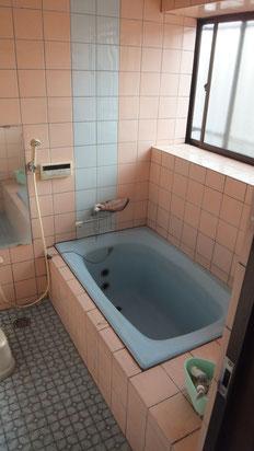 在来工法浴室リフォーム