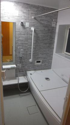 在来工法浴室からユニットバスへ
