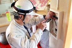 新潟の消防設備点検業者による不良箇所の修繕実施