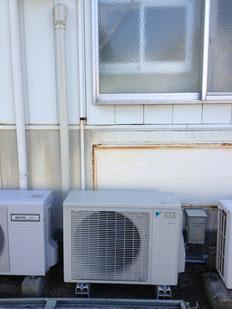 エアコン取り付け工事 徳島市川内町