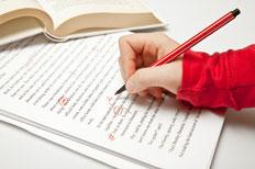 Korrekturlesen, Buch, Textmarker, Bachelorarbeit, Masterarbeit