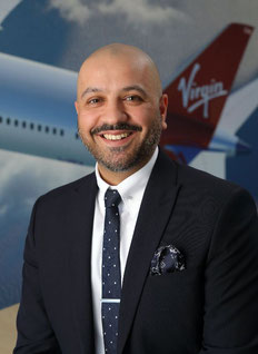 Sumith Rathor – courtesy Virgin Atlantic