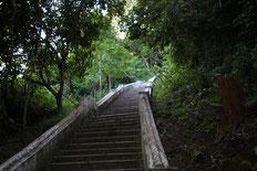 Trepp hinauf zur Tham Theung