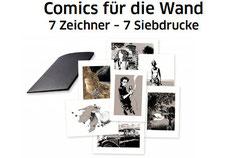 Comics für die Wand