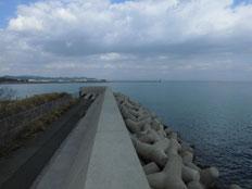 北九州市門司区のロックフィッシュの釣り場