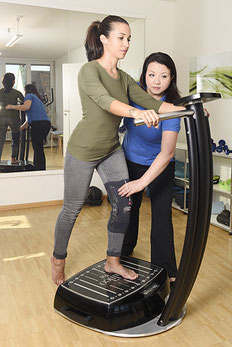 Physiotherapie Basel, Claraplatz, Galilei Vibrationsplatte, Training, med. Massage Claraplatz