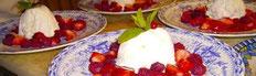 Dessert Crémet d'Anjou