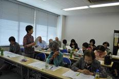 はじめて協会事務所で総会を開催しました。