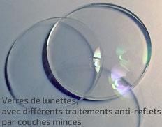 Anti-reflets par couches minces interférentielles