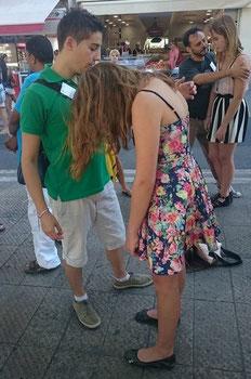 Hypnose dans la rue avec Frédéric CORRADO