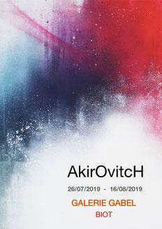 Akirovitch-street art, art abstrait, tableau coloré, pièces uniques, galerie d'art cote d'azur, nice, monaco, st paul de vence, cannes, art contemporain