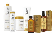 Natural beauty product PR. NHP Natural Haircare Program range of products
