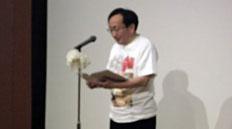 「健康長寿県」をめざして挨拶する三村申吾青森県知事