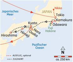 Rundreisen Japan 2021 Kleingruppenreisen SKR Rundreisen 2021